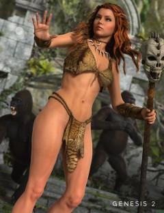 Jungle Girl for Genesis 2 Female(s)