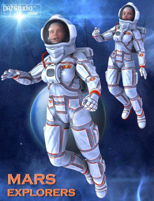 Mars Explorers for Genesis 2 Female(s)