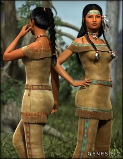 Wachiwi's Finery for Genesis 2 Female(s)