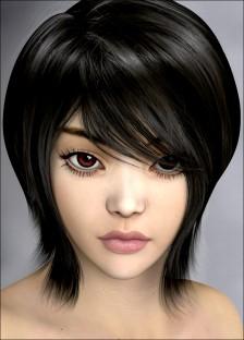 Actual Hair 2 for Genesis