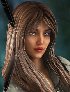Ranger Hair for Genesis 2 Female(s)