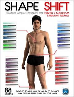 Shape Shift for Genesis 2 Male(s) / M6
