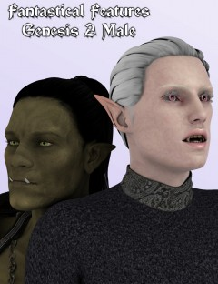 Fantastical Features for Genesis 2 Male