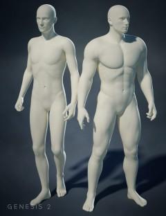 Genesis 2 Male Body Morphs