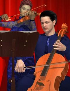 Genesis Musicians Strings Players