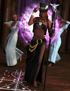 Voodoo Magic Poses for V4.2 and V5