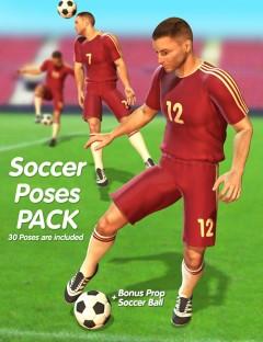 Soccer Poses Pack