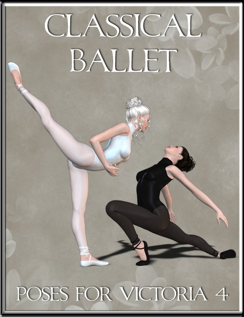 Classical Ballet Poses for Victoria 4