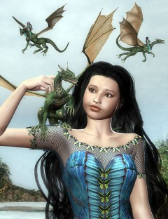 DragonLady Poses