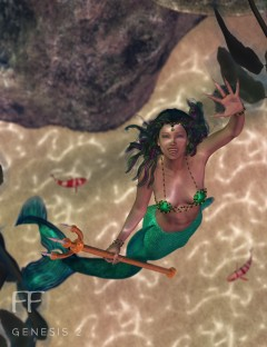 Defenders of the Deep for Genesis 2 Female(s)