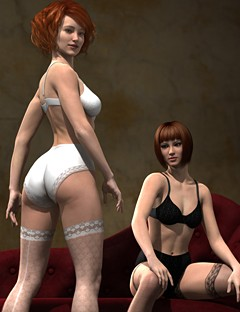 Boudoir Poses for V6 and Genesis 2 Female