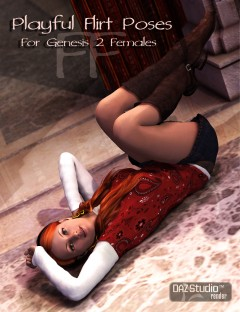 Playful Flirt Poses for Genesis 2 Female(s)
