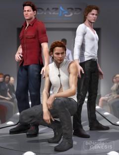 David 5 Fashion Poses