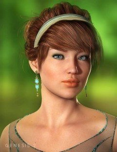 Chic Hair for Genesis and Genesis 2 Female(s)
