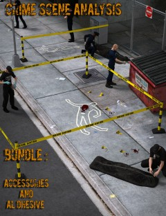 Crime Scene Analysis: Accessories and Al Dhesive Bundle