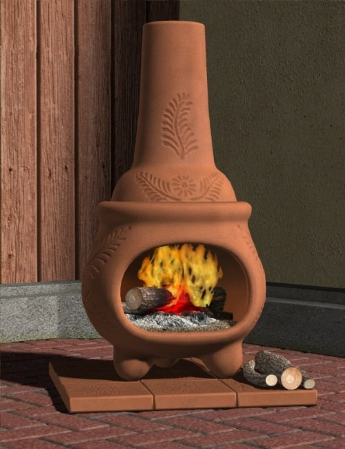 Chiminea Other Environments For Daz Studio And Poser