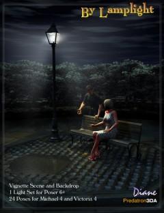 By Lamplight Vignette Scene
