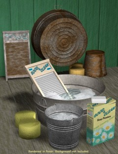 Good & Clean Tub and Pail Set