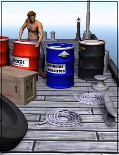 Wharf Construction Set: Accessories