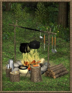 FIRE! Campfire and Cooking Set