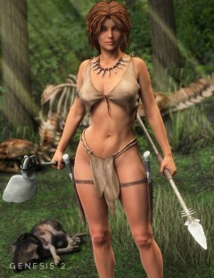 Tooth and Bone: Savage Accessories for Genesis 2 Female(s)