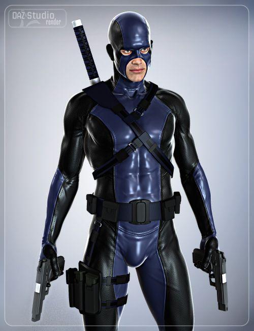 Super Hero Equipment for Genesis 2 Male