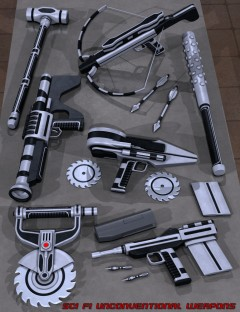 Sci Fi Unconventional Weapons