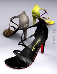 Cross Strap Heels