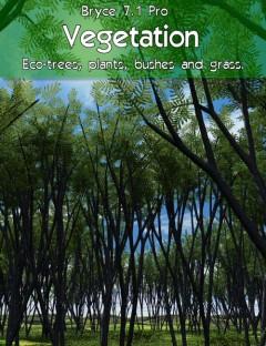 Bryce 7.1 Pro- Vegetation