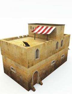 2-Story Desert House