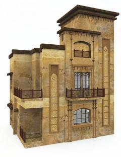 Multi-Story Desert House