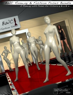 'BWC Runway' and 'BWC Fashion Poses' Bundle