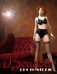 Boudoir Photo Studio and Lights