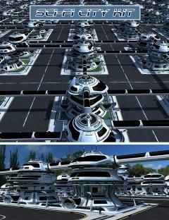 Sci-fi City Kit