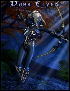 Dark Elves for Genesis 2 Female(s)