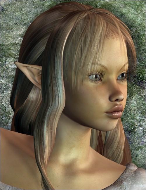 Sparkel for v4 a4 fairies elves for daz studio and poser - Four a poser ...