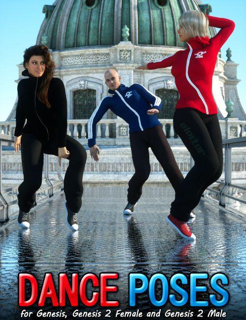 Dance Poses for Genesis and Genesis 2