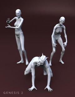 Genesis 2 Female Creature Creator Poses