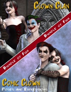 Comic Clown Clan Bundle