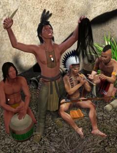 Cheyenne Village Action M4