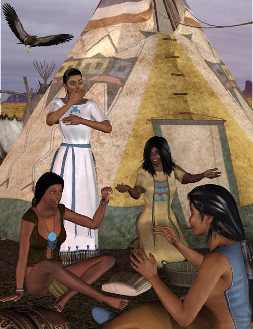 Cheyenne Village Action V4