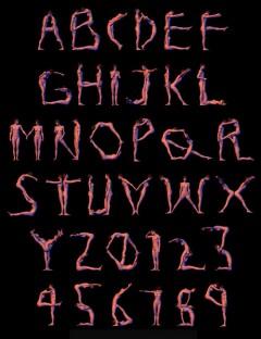 Millennium-3D Alphabet