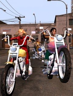 Bikerella Action