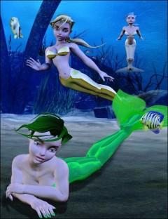 Girl Mermaid Poses