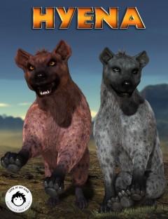 Hyena for DAZ Big Cat 2