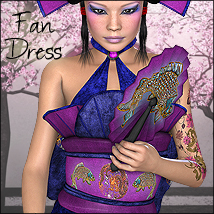 The Fan Dress for V4, A4, S4 and G4