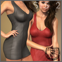 HOT Dress for Genesis 2 Female(s)