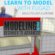 Modeling for Poser Beginner to Advanced