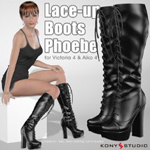 Lace-up Boots Phoebe