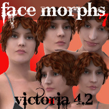 Farconville's Face Morphs 7 for Victoria 4.2